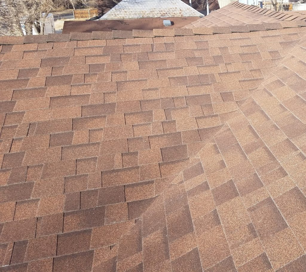 Malarkey Legacy Shingle - Antique Brown / Color Matched High Ridge